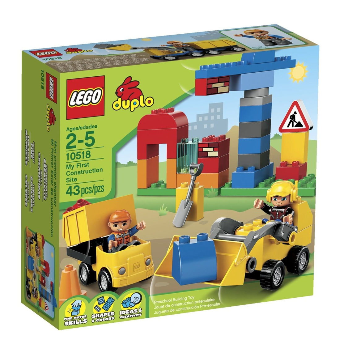 LEGO DUPLO MY FIRST CONSTRUCTION SET