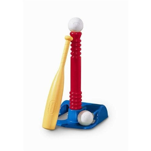 LITTLE TIKES T BALL BASEBALL SET