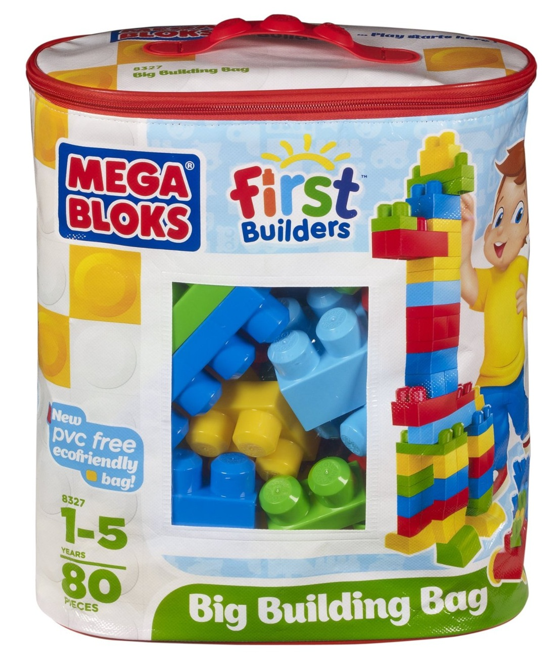 MEGA BLOKS FIRST BUILDERS PVC FREE BLOCKS