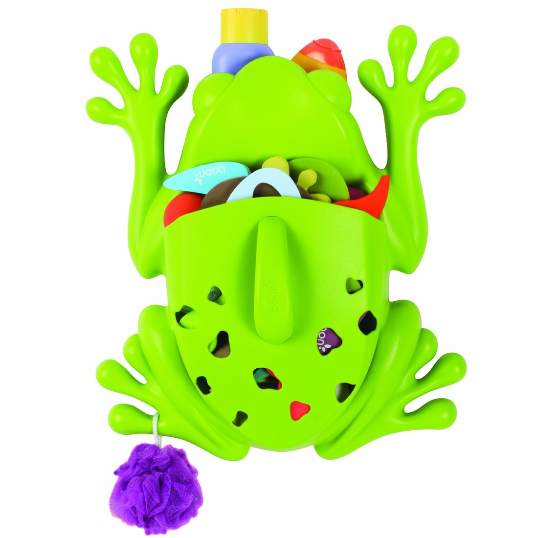 BOON BATH TOY SCOOP GREEN FROG
