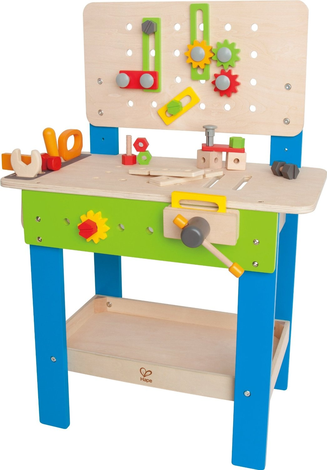 HAPE TOYS MASTER WORKBENCH WITH TOOLS