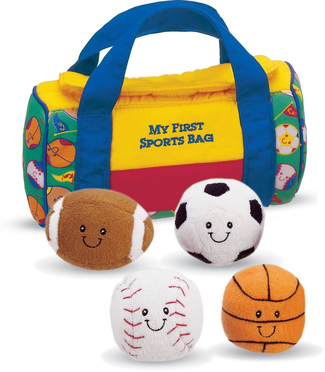 BABY GUND MY FIRST SPORTS BAG WITH BALLS
