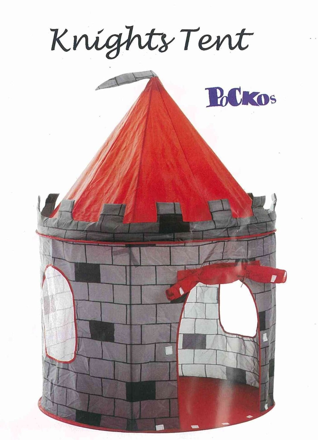 POCKO KNIGHTS CASTLE PLAY HOUSE PLAY TENT