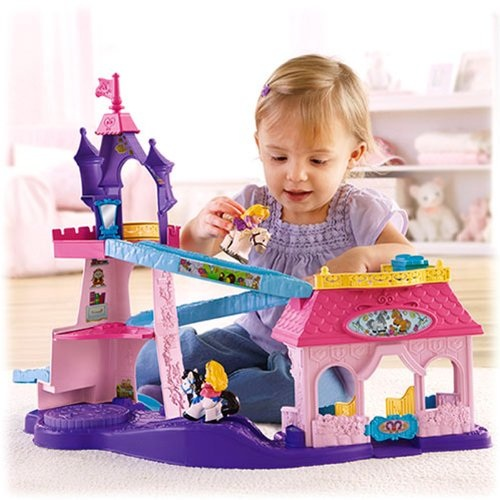 FISHER PRICE LITTLE PEOPLE DISNEY PRINCESS STABLE