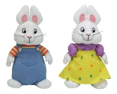 TY BEANIE MAX AND RUBY DOLL